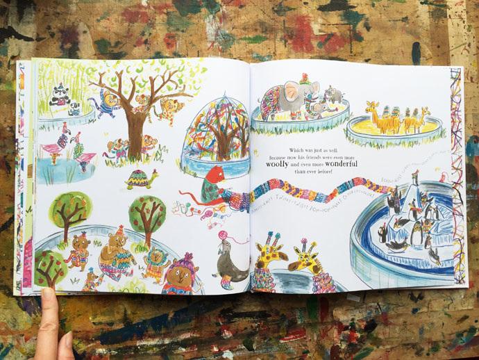 Stanley The Amazing Knitting Cat Emily Mackenzie Childrens Book