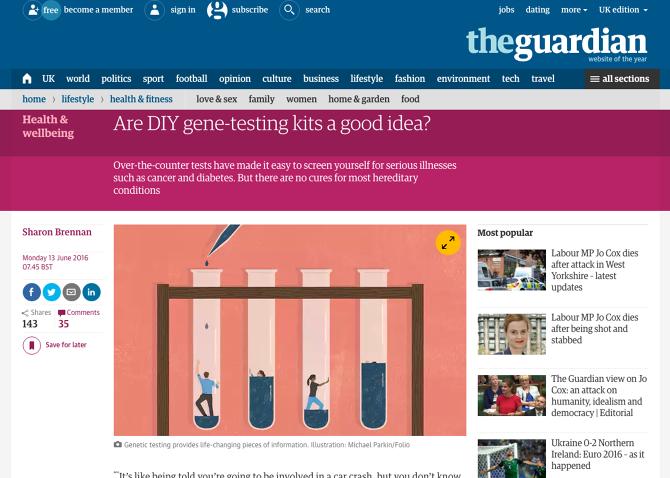 genetic testing uk